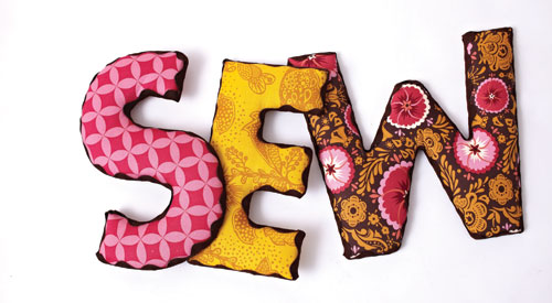 Sew-Letters