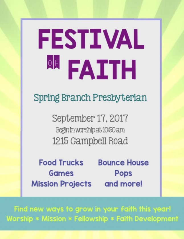 Festival of Faith 2017